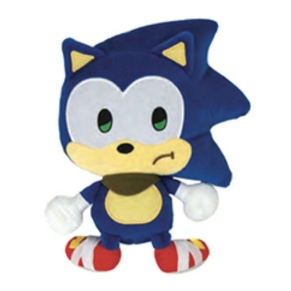 Tomy Other Plush Toy Sonic The Hedgehog Emoji Sad Sonic Poshmark